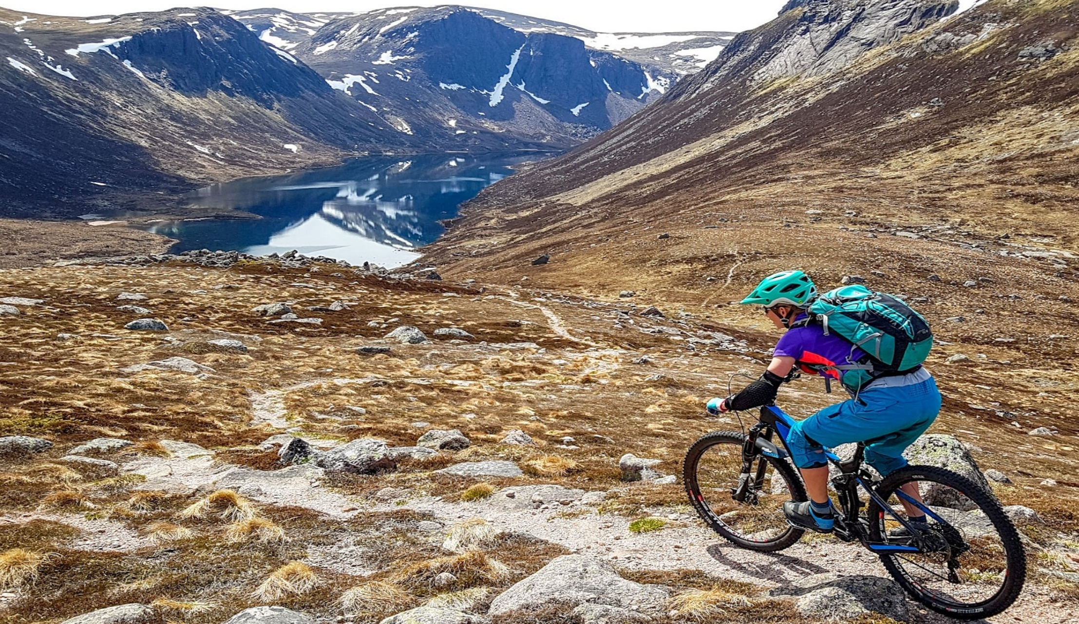 cairngorm mountain bike descent