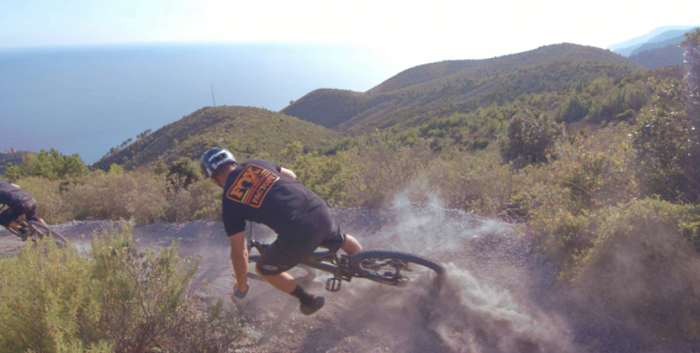 Finale Ligure Singletrack from Mountain to Sea