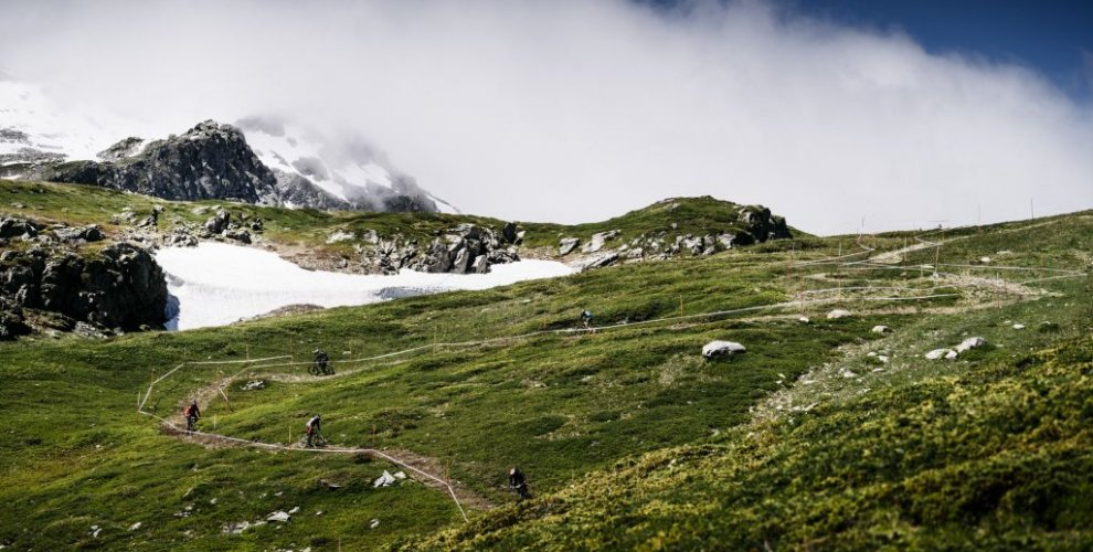 the twists and turns of la thuile mtb