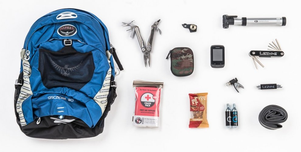 An Assortment of MTB specific items for Finale Ligure