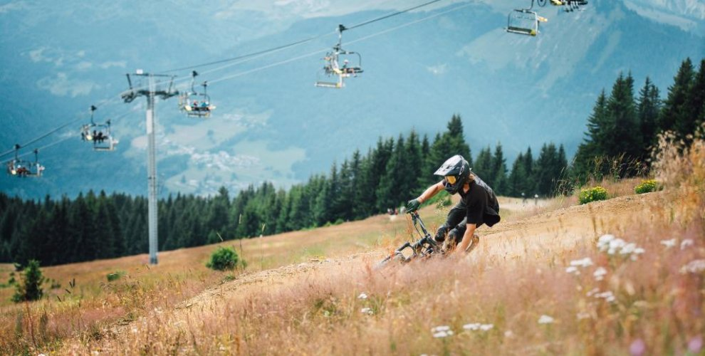 morzine is a lift assisted mountain bike resort in the french alps