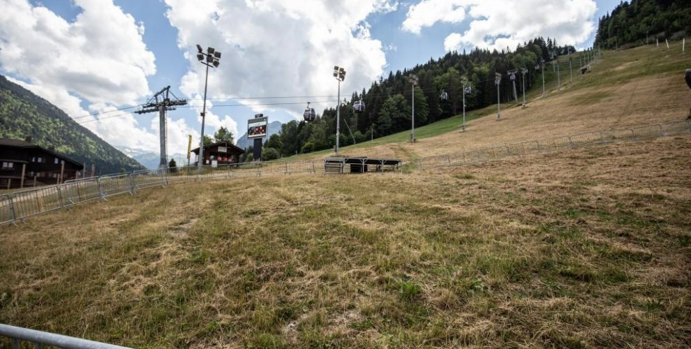 The finish arena....2019 Morzine World Cup....?