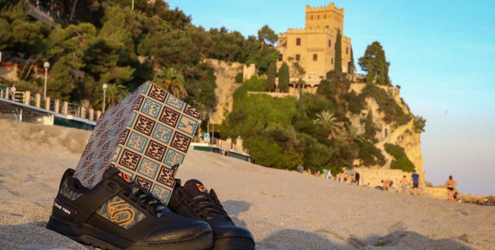 Five ten test shoes in Finale ligure