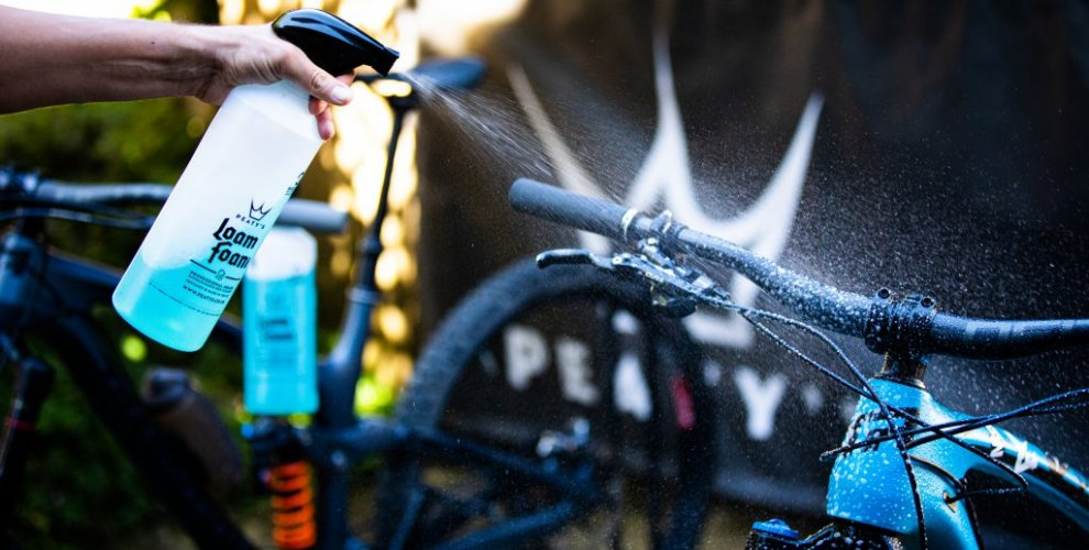 bike wash at all MTB Beds locations free product peatys
