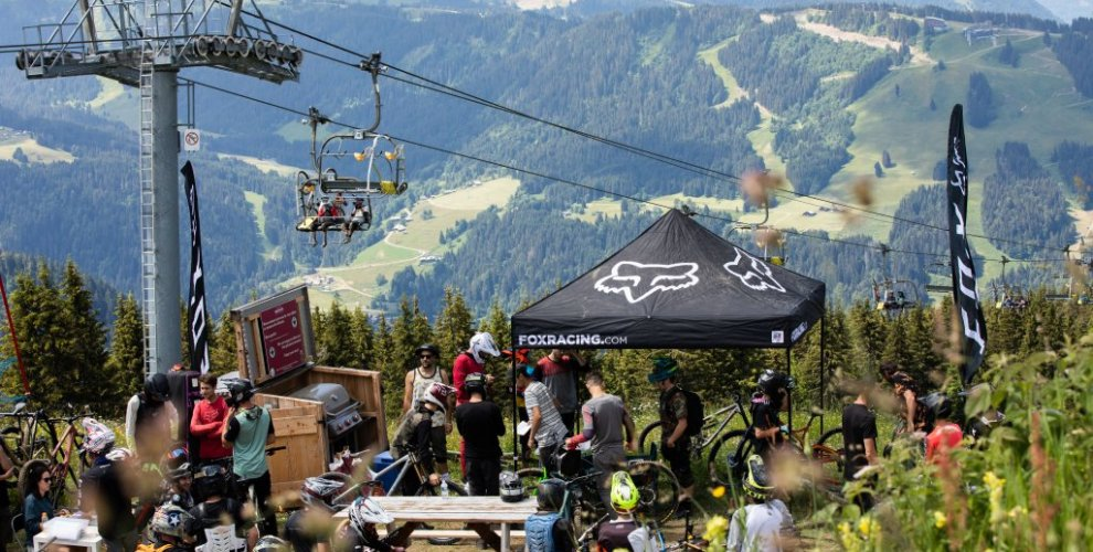 Fox Hit the Park mountain bike event