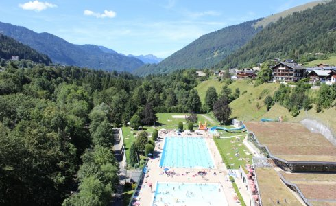 Morzine Outdoor Swimming Pool
