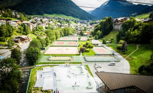 Morzine Skate Park and Tennis Courts