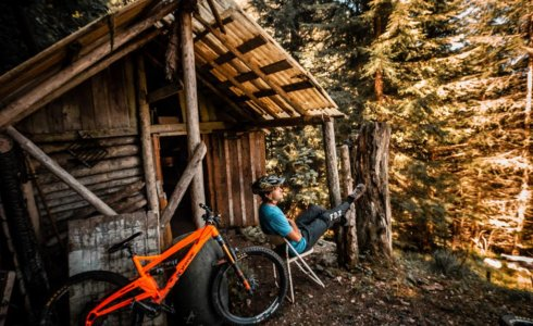 Scott Windsor Photography enjoying MTB Beds accommodation