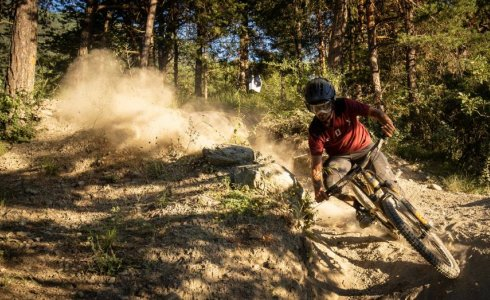 Pila is a dusty mountain bike paradise