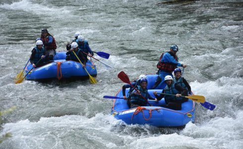 white water rafting team day out
