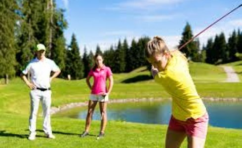 golf for all the fmaily in morzine