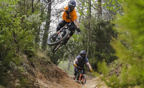 Fergus Ryan to the moon on roller coaster finale ligure