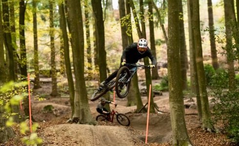 Olly Wilkins at Rogate DH