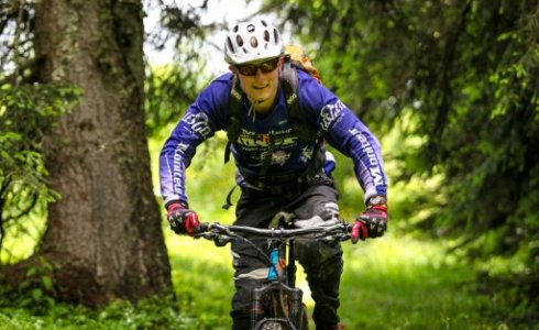alpine single track guide morzine