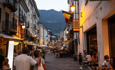 Aosta main street restaurants