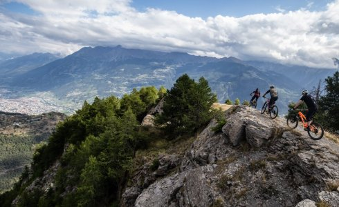 Hidden singletrack Aosta