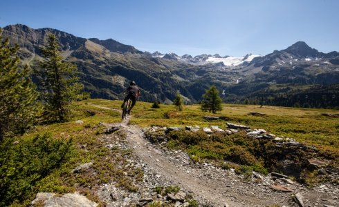 Tour La Thuile with MTB Beds
