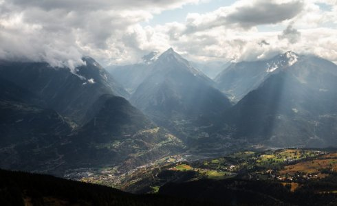 Aosta Valley is a stunning location for a mountain bike tour