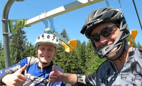 How much is a MTB guide in Morzine? - MTB Beds