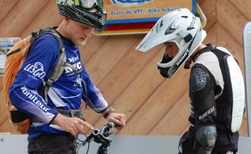 Coaching for mountain bikers in Morzine - MTB Beds