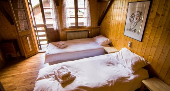 twin room super morzine