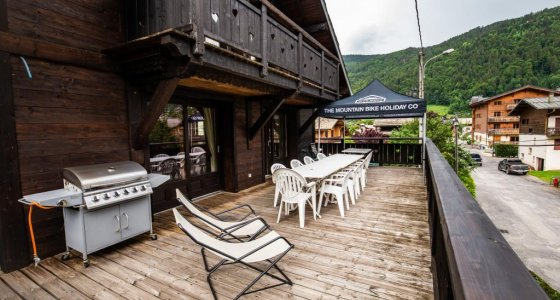 central morzine mountain bike chalet