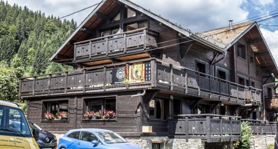 the riders week catered chalet in morzine