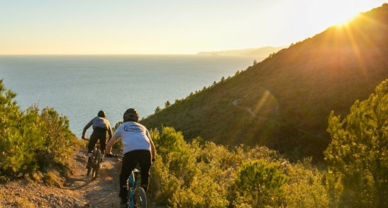 to the ocean to finish the epic tour in finale ligure
