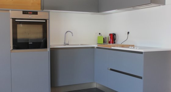 kitchen facilities morzine mtb apartment