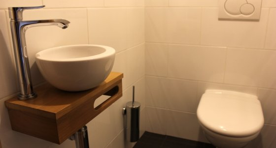 the best toilet in morzine