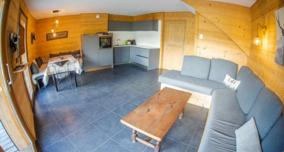 open plan morzine self catered
