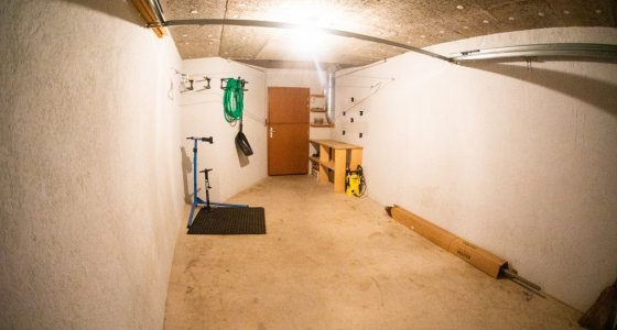 mtb accomodation morzine with secure garage