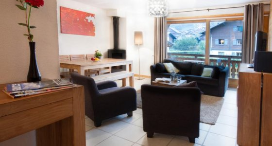 Mountain bike accommodation serviced apartments Morzine MTB Beds