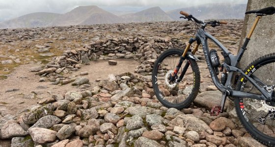 enduro bikes in the cairngorms