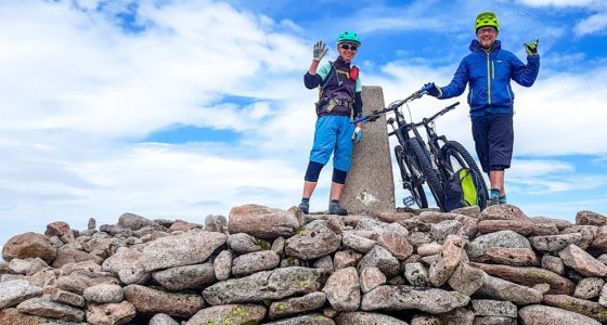your mountain bike guides in scotland