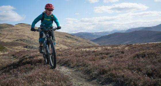 mountain bike cairngorms
