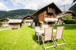garden view super morzine