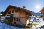 MORZINE MTB CHALET OUT SIDE VIEW