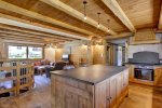 inside chalet chapelle in morzine