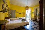 Quad bedroom in Finale Ligure accommodation