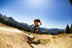 downhill mountain biking in morzine