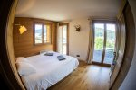 bedroom with a view morzine holiday