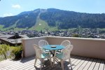 balcony in Morzine summer apartment mtb