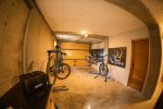 Secure bike storage with MTB BEDS in Morzine