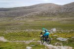 single track descent in the cairngorms