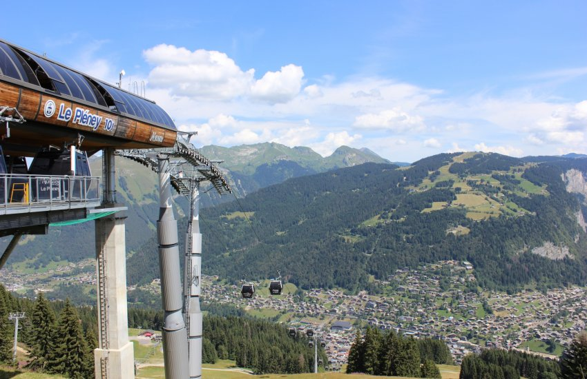 morzine summer mountain bike lift pass prices