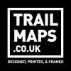 Trail Maps Mountain Bike Art Work Morzine, Finale Ligure, Aosta